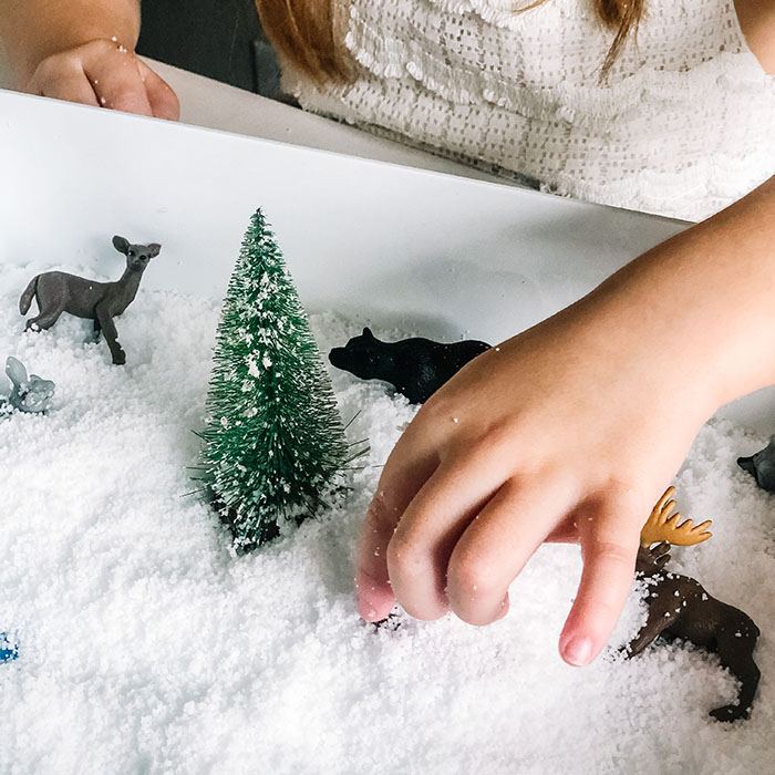 snow day activities with Learning Unbound